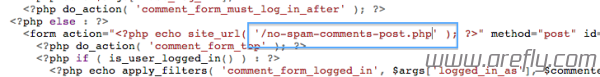 wordpress-no-spam-comments-post-3-1-2