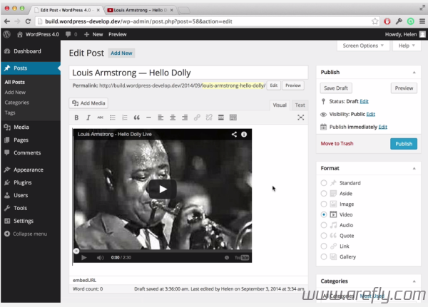 wordpress-4-0-video